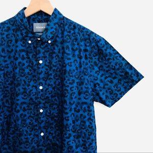 Bonobos • Men's Slim Fit Camo Leopard Button Up